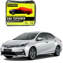 Toyota Corolla Face Lift Maximus Non Woven Car Top Cover - Model 2017-2019