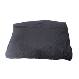 Mehran Rubber Code Top Cover Black-SehgalMotors.Pk
