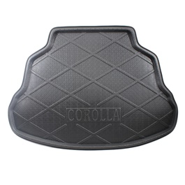 Toyota Corolla Foam Trunk Mats Black - Model 2014-2017-SehgalMotors.Pk