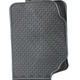 Honda City Rubber Floor Mat Black - Model 2017-2019-SehgalMotors.Pk