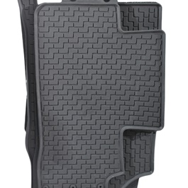 Honda Civic Rubber Floor Mat Black - Model 2017-2019-SehgalMotors.Pk