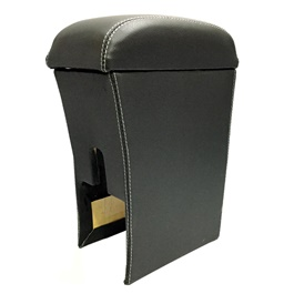 Suzuki Swift Arm Rest Black with White Stitching-SehgalMotors.Pk