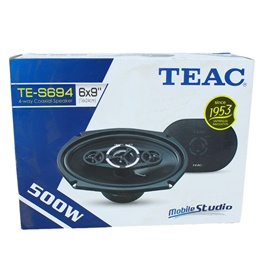 Coaxial TEAC 500w 4-way Speakers 16x24cm TE-S694-SehgalMotors.Pk
