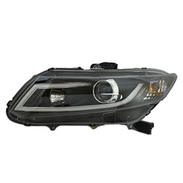 Honda Civic Headlamps Full Nike Style - Model 2012-2016