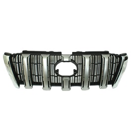 Toyota Land Cruiser FJ150 Front Grille Black Chrome Style B - Model 2008-2017-SehgalMotors.Pk