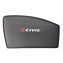 Honda Civic Side Sun Shade with Logo - Model - 2017-2018