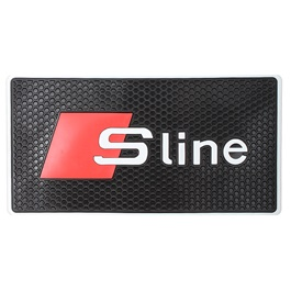 S line Non Slip / Anti Skid Mat For Dashboard-SehgalMotors.Pk