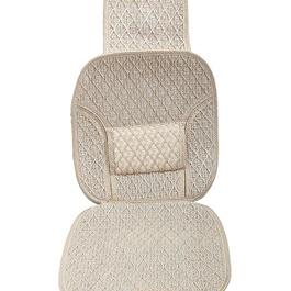 Silk Seat Cover Set - Golden-SehgalMotors.Pk