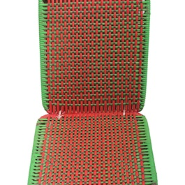 Ban Seat Cover Set - Red & Green-SehgalMotors.Pk