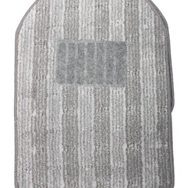 Universal Carpet Custom Floor Mats Grey |Fur Floor Mats | Car Mats | Vehicle Mats-SehgalMotors.Pk
