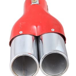Double Exhaust Tip