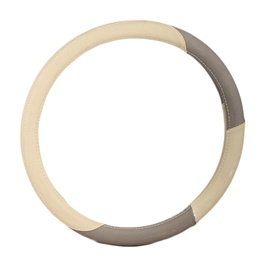 Grey and Beige Steering Cover-SehgalMotors.Pk