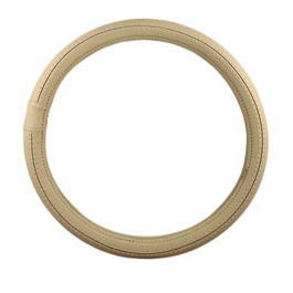 Car Steering Cover - Beige-SehgalMotors.Pk
