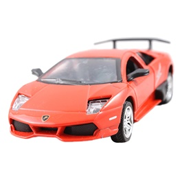 Lamborghini Car Metal Perfume - Orange-SehgalMotors.Pk