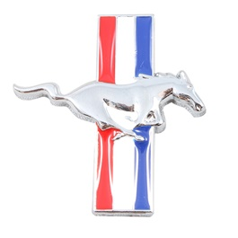 Mustang Metal Logo Multi - Each