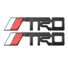 TRD Metal Logo Multi - Pair