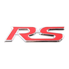 RS Metal Logo Red - Each-SehgalMotors.Pk