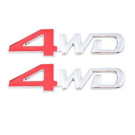 4WD Logo Multi - Pair