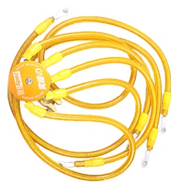 D1 Spec Earth Wires Set - Yellow-SehgalMotors.Pk