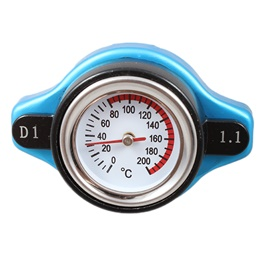 D1 Spec Thermo Racing Radiator Cap with Water Temperature Meter-SehgalMotors.Pk