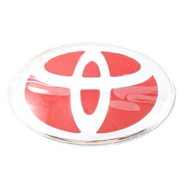 Toyota Steering Logo - Red