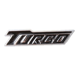 Turbo Logo Large Black