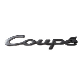Coupe Metal Monogram Black