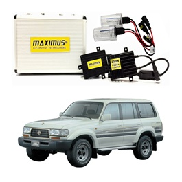 Toyota Land Cruiser Maximus 200W HID 6000 Lumens - Model 1990-1998-SehgalMotors.Pk