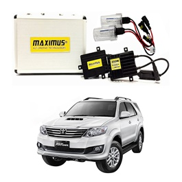Toyota Fortuner Maximus 200W HID 6000 Lumens - Model 2013-2016-SehgalMotors.Pk