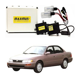 Toyota Corolla 6th Generation Maximus 200W HID 6000 Lumens - Model 1994-2002-SehgalMotors.Pk