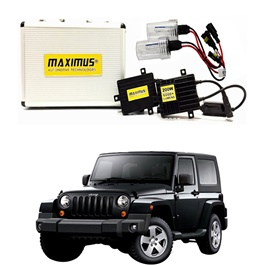 Jeep Wrangler Maximus 200W HID 6000 Lumens - Model 2007 - 2017-SehgalMotors.Pk