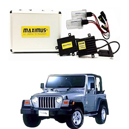 Jeep Wrangler Maximus 200W HID 6000 Lumens - Model 1996 - 2006-SehgalMotors.Pk