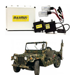 Jeep CJ-5 Maximus 200W HID 6000 Lumens - Model 1959-1982-SehgalMotors.Pk