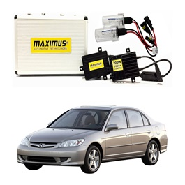 Honda Civic Maximus 200W HID 6000 Lumens - Model 2004-2006