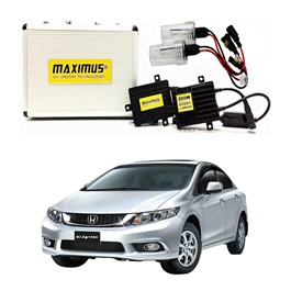 Honda Civic Maximus 200W HID 6000 Lumens - Model 2012-2016