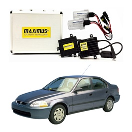 Honda Civic Maximus 200W HID 6000 Lumens - Model 1999-2001