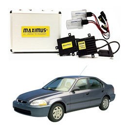 Honda Civic Maximus 200W HID 6000 Lumens - Model 1996-1999