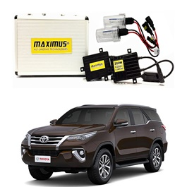 Toyota Fortuner Maximus 200W HID 6000 Lumens - Model 2013 - 2017-SehgalMotors.Pk