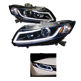 Honda Civic Headlights with DRL - Model 2012-2016-SehgalMotors.Pk
