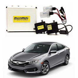 Honda Civic Maximus 200W HID 6000 Lumens - Model 2016-2020-SehgalMotors.Pk