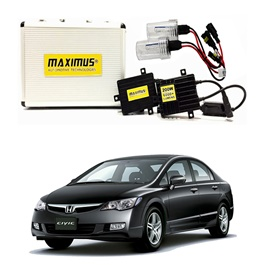 Honda Civic Maximus 200W HID 6000 Lumens - Model 2006 - 2012