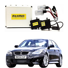 BMW 5 Series Maximus 200W HID 6000 Lumens - Model 2003 - 2010