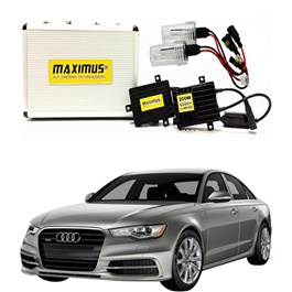 Audi A6 Maximus 200W HID 6000 Lumens - Model 2011 -  2017