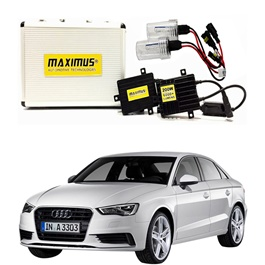 Audi A3 Maximus 200W HID 6000 Lumens - Model 2012-2017