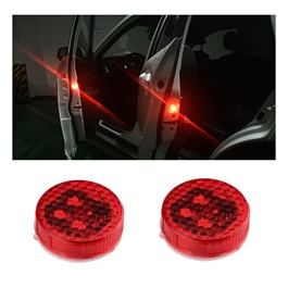 Tesla Style Wireless Door Warning Lights – Pair-SehgalMotors.Pk