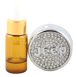 Jeep Grill Perfume Chrome-SehgalMotors.Pk