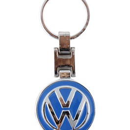 VolksWagen Metal Key Chain / Key Ring Blue-SehgalMotors.Pk