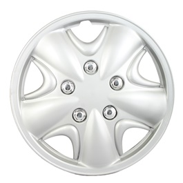 Grey Wheel Cap - 01 - 13 inches | Tire Wheel Cover | Wheel Center Cover | Wheel Decoration Item-SehgalMotors.Pk