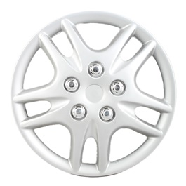 Grey Wheel Cap - 02 - 13 inches | Tire Wheel Cover | Wheel Center Cover | Wheel Decoration Item-SehgalMotors.Pk