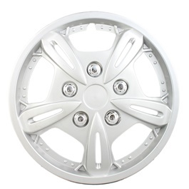 Grey Wheel Cap - 04 - 13 inches | Tire Wheel Cover | Wheel Center Cover | Wheel Decoration Item-SehgalMotors.Pk